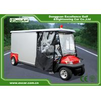 Buy cheap 2 Seater Electric Ambulance Car 3.7KW 48V Trojan Battery With Cargo Box product