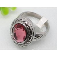 Pink glass semi precious stone wedding ring 1140415 90288784 for Precious stone wedding rings
