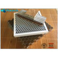 Buy cheap Glue Bonded Aluminum Honeycomb Curtain Wall Core Board 0.07mm Thickness product