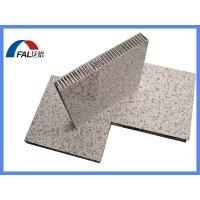 Buy cheap Stone grain aluminum honeycomb composite panel for building facade wall cladding product