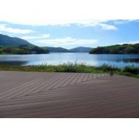 Buy cheap Waterproof Wpc Wood Plastic Composite Deck Boards Customized Color Easy Clean product