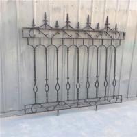 Buy cheap Decorative Wrought Iron Fence Erosion Resistance Ornamental Fence Panels product