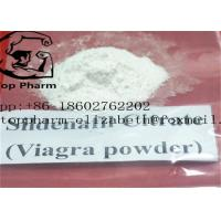 China Sildenafil Citrate Cas 171599-83-0 Male Sex Enhancer White To Off White Crystalline Powder on sale