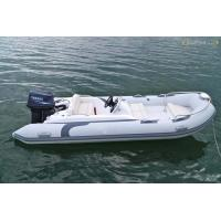 Buy cheap Liya 3.3m-8.3m fiberglass hull rigid inflatable boat with center console product