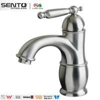 Buy cheap Classical style single handle crown basin faucet with cheap price product