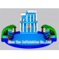 Customized Inflatable Water Park with Swimming Pool Slide for Ground