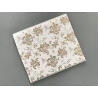 10 Inch Gold Leaf Ceiling PVC Panels Easy to Connect For Wall and Ceiling