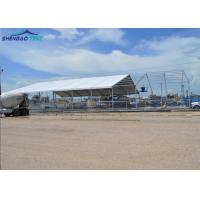 China High Strength Heavy Duty Industrial Storage Tents Flame Retardant on sale