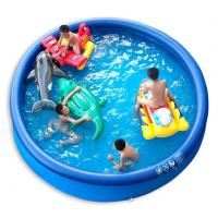 China Famliy Intex PVC Infalatble Water Sport Toys , 0.6 mm Thickness PVC Inflatable Pool on sale