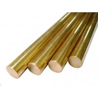 Buy cheap Round Pure Brass Copper Alloy Bar Diameter 5 - 100mm For Glasses Frames product