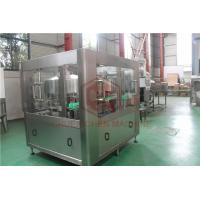 Buy cheap Volumetric Bottle Vial Filling Aluminum Canning Equipment With Bottle Washing product