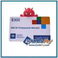 Buy cheap plastic loyalty cards product