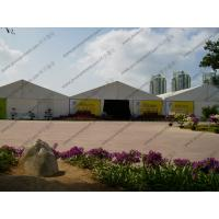 China Large French Windows Outdoor Exhibition Canopy Tent PVC Fabric 18 x 33m Aluminum Frame on sale
