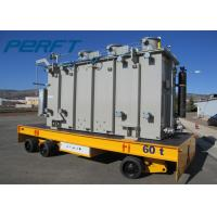 China Steel Coil Motorized Transfer Trolley Agv For Industrial Heavy Load Material Handling on sale