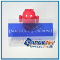 Buy cheap transparent card stock product