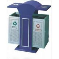 Buy cheap Iron with power coated / stainless steel  bins for residential park, sports playground product