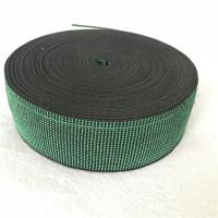 China 80%-90% Elongation Elastic Straps For Sofa , Printed Upholstery Webbing Clips on sale