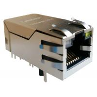 Buy cheap 0826-1X1T-AF POE RJ45 Connector Shielded With 10 / 100Base-TX To IP-PBX system from Wholesalers