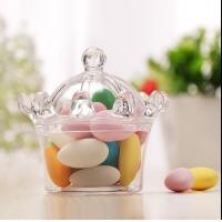 Buy cheap crown style sweet cake andy  chocolate food standard plastic packaging containers product