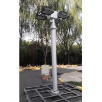 Buy cheap fire truck vertical mounted pneumatic mast light - tilt and turn unit-4x1000W halogen-6m~12m height product