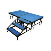 Buy cheap Steel Portable Stage Platform Movable 1220mm X 2440mm For Shop / School Event from Wholesalers