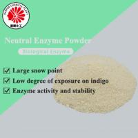 Buy cheap Manufacture neutral wide temperature range wear resistant enzyme powder for denim stone washing product