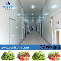 Buy cheap Cold Food Storage Restaurant Walk In Freezer , Sandwich Panel Modular Freezer Room product