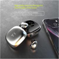 Buy cheap T1 V5.0 Wireless Bluetooth Headphones Waterproof Super Light With Charging Box Space product
