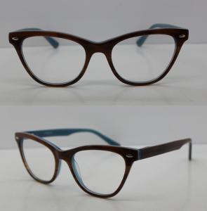 Buy cheap Custom Made Black Full Rim Modern Eyeglass Frames With CE Approve product