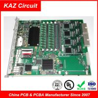 Buy cheap 4 layer FR4 TG150 1oz ENIG 1-2U  Industrial PCB for Core switching module Board product