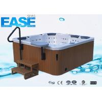 Buy cheap Comfortable luxury square acrylic whirlpool massage bathtub, 1*1HP, programmable circ pump product