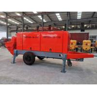 Buy cheap Smooth Pumping Electric Concrete Pump Energy Saving For Bridge Construction product