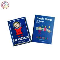 China Full Color Print Personalised Cards For Kids Educational Game OEM Service on sale