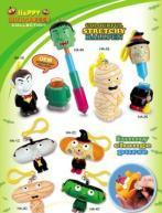 OEM Hallowmas stretchy ballpen toy & change purse key chains