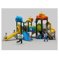 Buy cheap Simple Childrens Plastic Playground Anti UV Play Park Equipment For Multi Color product