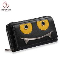Buy cheap Most popular New Design Women Long Wallet, Hot Sale Fashion Lady Wallet  smiling-face single pull cell phone wallet product