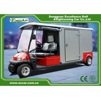 Buy cheap RED 48V 2 seater Electric Ambulance Car / Club Emergency Golf Carts product