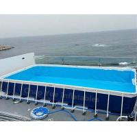 Hot sale Metal Frame Swimming Pool for water park