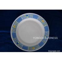 Buy cheap ceramic 7.5' flat plats,  white porcelain dishes product