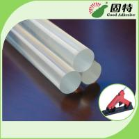 Buy cheap EVA And Viscosity Resin Clear 11mm Glue Sticks For Glue Gun Hot Melt product