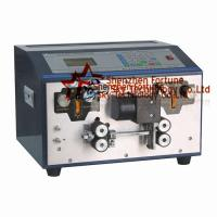 Buy cheap Fully Automatic NM Cable Stripper Machine Submersible 3 Core Flat Cable Stripper Stripping Outer Jacket And Core Wires product