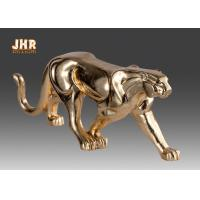 Buy cheap Gold Foil Polyresin Animal Figurines Indoor Decor product