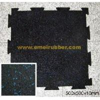 Buy cheap Interlocking Rubber Flooring Mat product