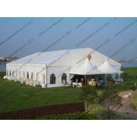 Buy cheap 20 x 25m White Wedding Event Tents , Outdoor Luxury Tent Wedding Ceremony product