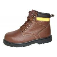 Buy cheap High Ankle Leather Comfortable Steel Toe Shoes  , 43'' Size Industrial Work Shoes product