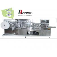 Buy cheap Single Piece  Wet Tissue Packing Machinery Three - Side Sealing product