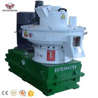 Buy cheap Vertical Ring Die Capacity 2 Tons Per Hour Pine Wood Pellet Making Machine product