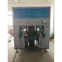 Buy cheap Double Lane Tissue Paper Converting Machine 3 Servo Control Rotary Cutting product