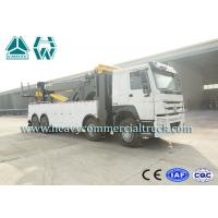 Buy cheap Multifunctional Wrecker Tow Truck 50 Tons with Fuel Type Diesel HOWO product