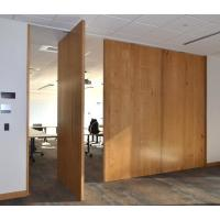 Buy cheap Interior Removable Sliding Folding Partition Acoustic Room Dividers Easy To Operate product